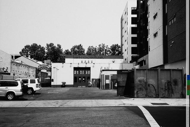 Back Entrance The Old Spaghetti Factory, San Pedro Square, San Jose