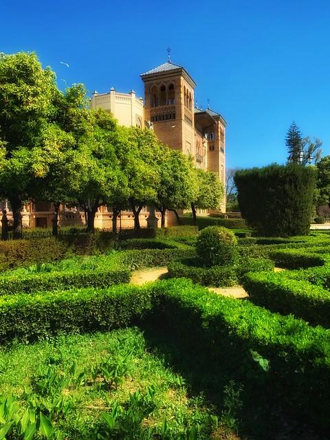Gardens of Seville
