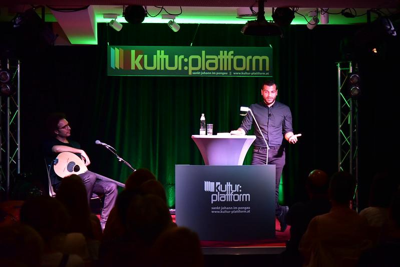 Lesung mit Musik: Jad Turjman & Salah Ammo