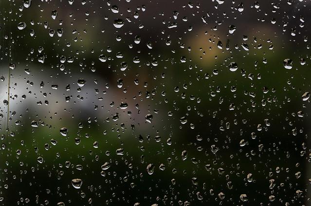 Il pleut!