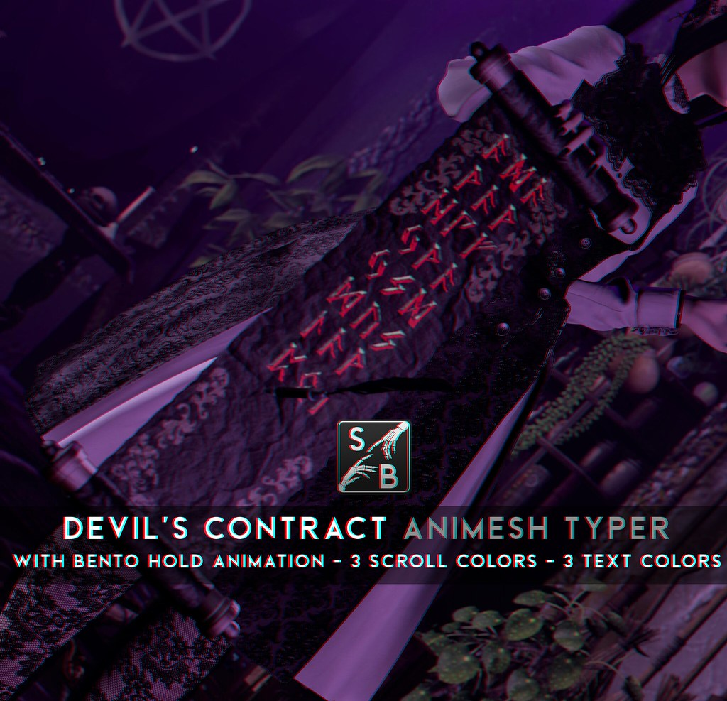 Skellybones – Devil's Contract – Animesh Typer @ SaNaRae