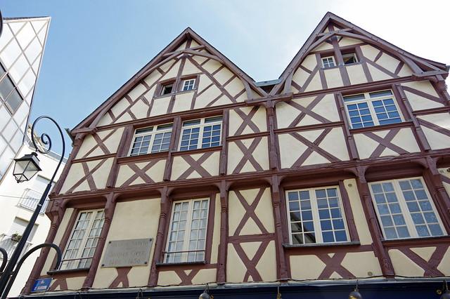 Bourges (Cher) : maison natale de Jacques Coeur