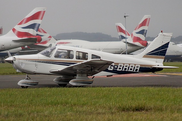 G-BRBA at Cardiff 28/09/20