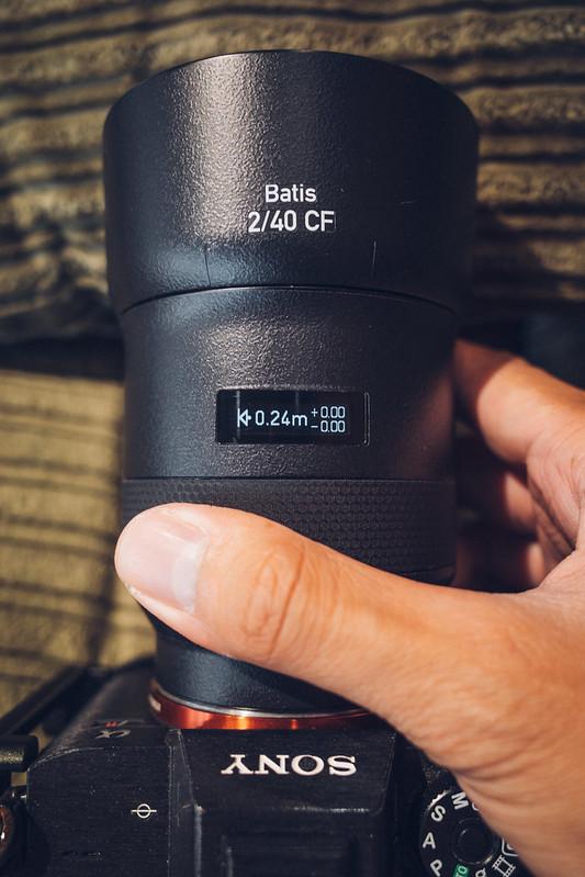 Batis 40CF OLED切換 ZEISS