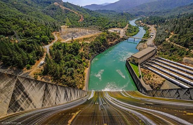 Shasta Dam, Shasta County, California, USA