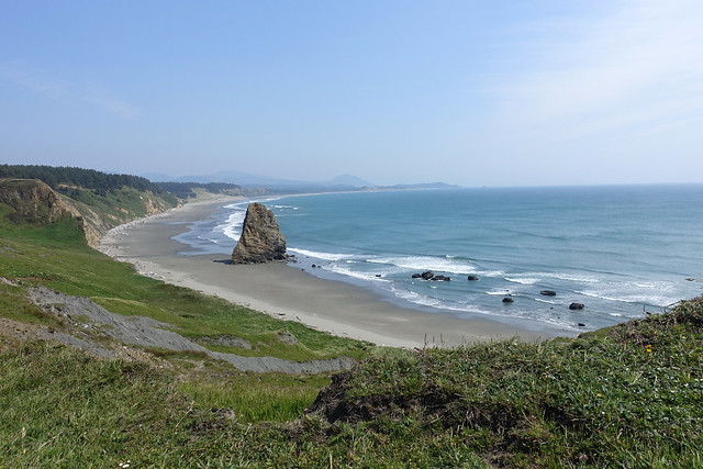 Oregon Coast as seen from Cape Blanco SP, OR