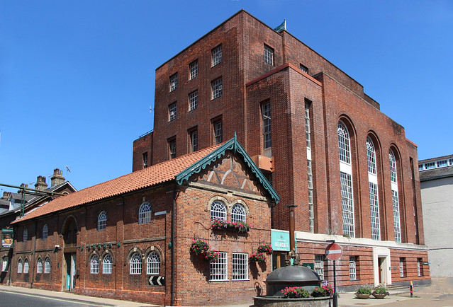 Green king Brewery Bury St Edmunds