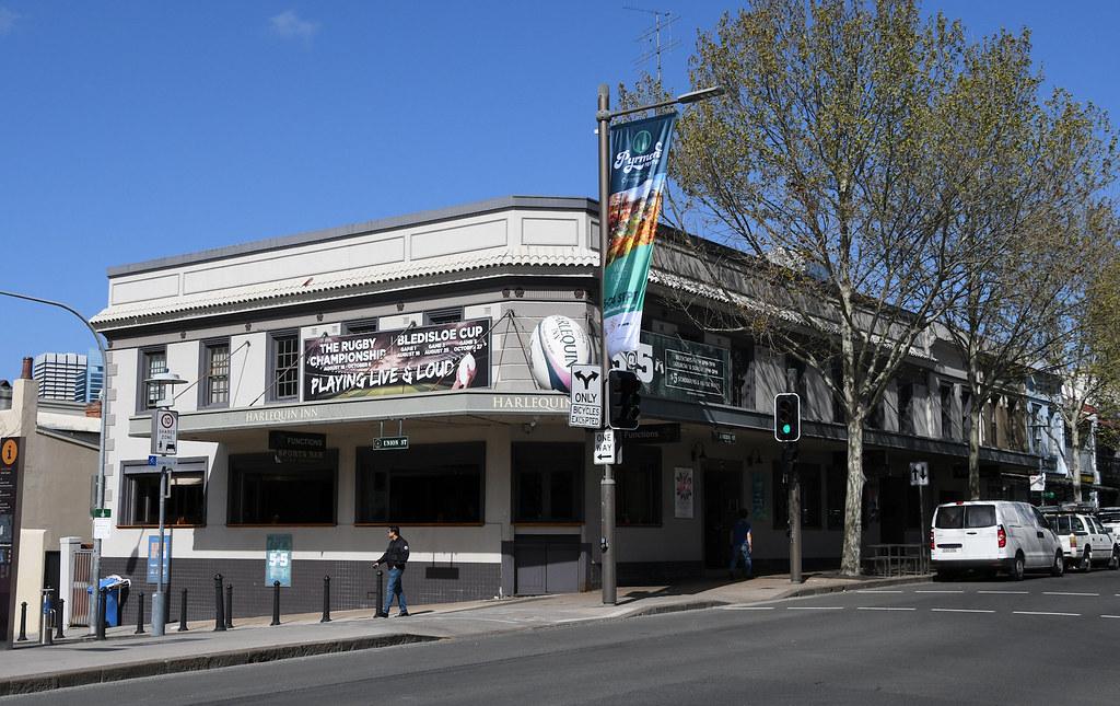 Harlequin Inn, Pyrmont, Sydney, NSW.