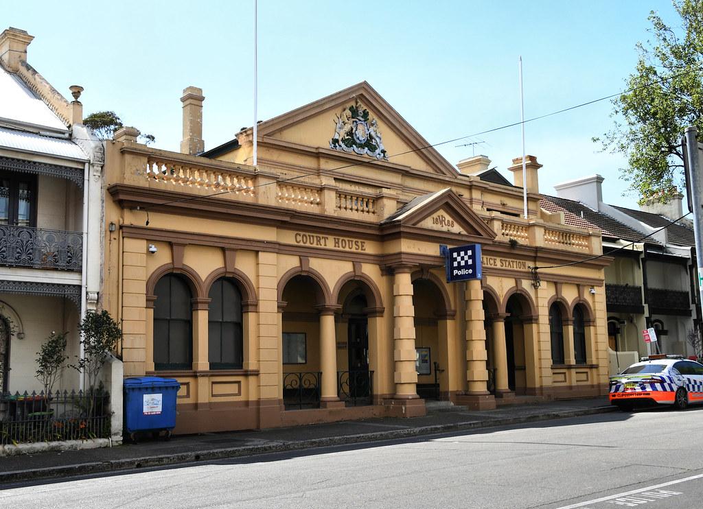 Court House, Police Station, Paddington, Sydney, NSW.