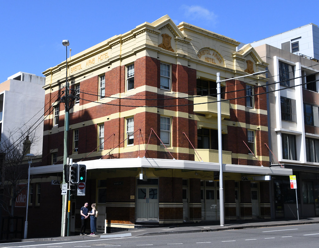 Bristol Arms Hotel, Ultimo, Sydney, NSW.