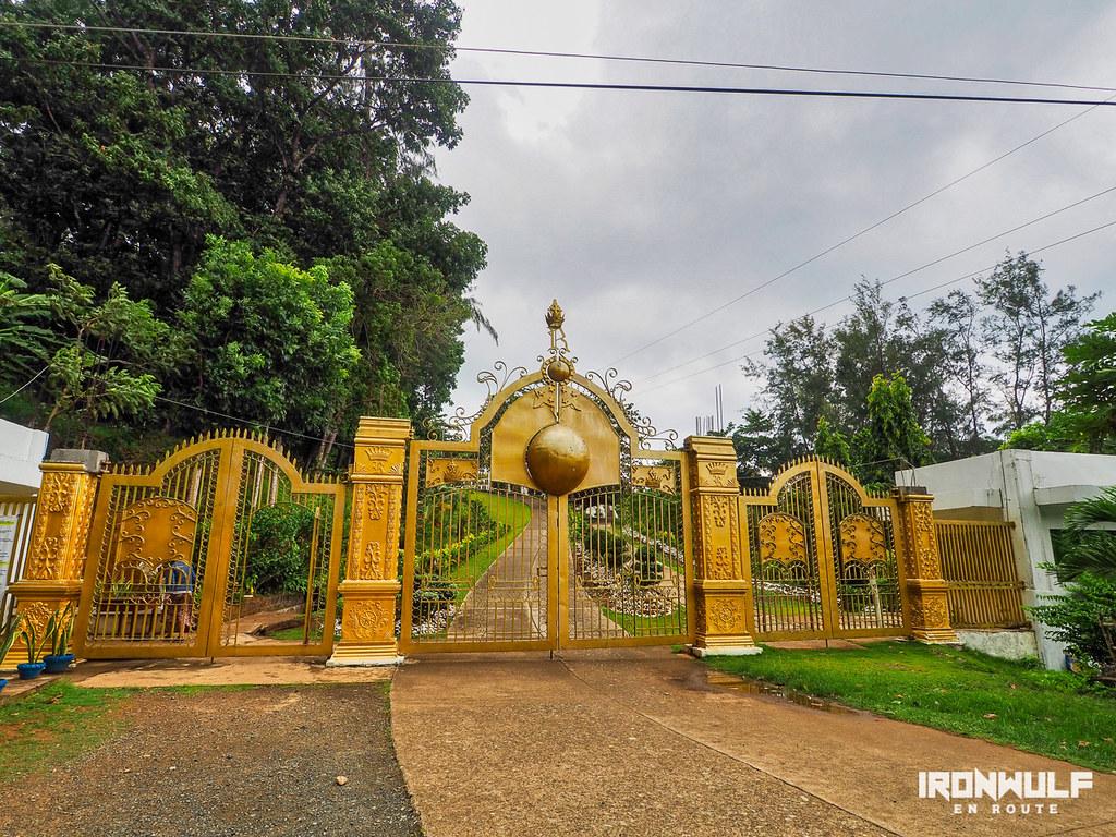 Golden Gate of the Divine Master's Shrine