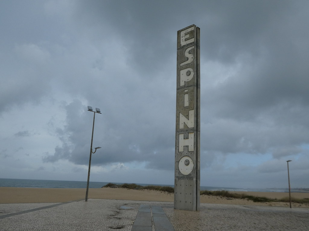 The start of the Espinho boardwalk