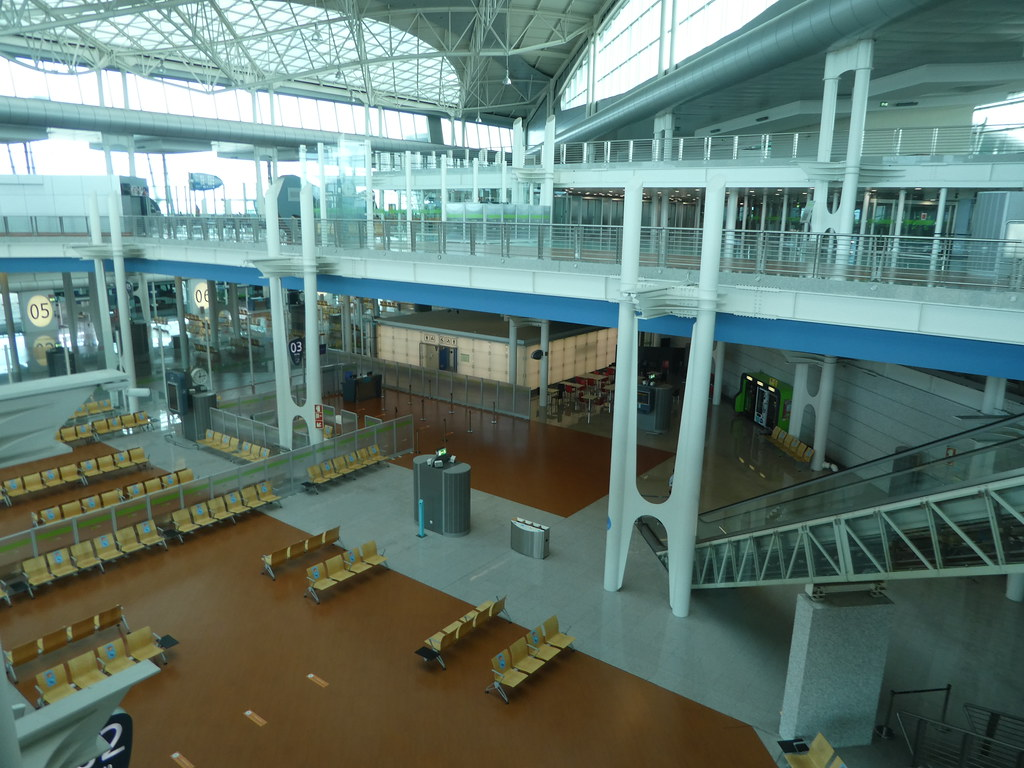 Porto airport terminal building
