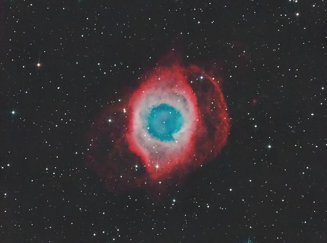 NGC7293 - Helix Nebula HaRGB