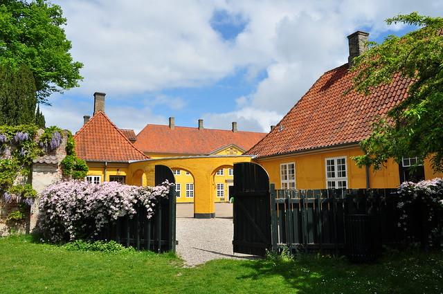 Jardin de Paloehaven,  Roskilde, Sjælland, Danemark.