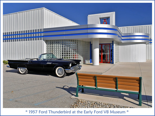 Sit Awhile and Admire the Sporty 1957 Thunderbird