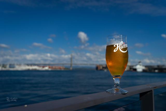 2020 A beer in Stavanger