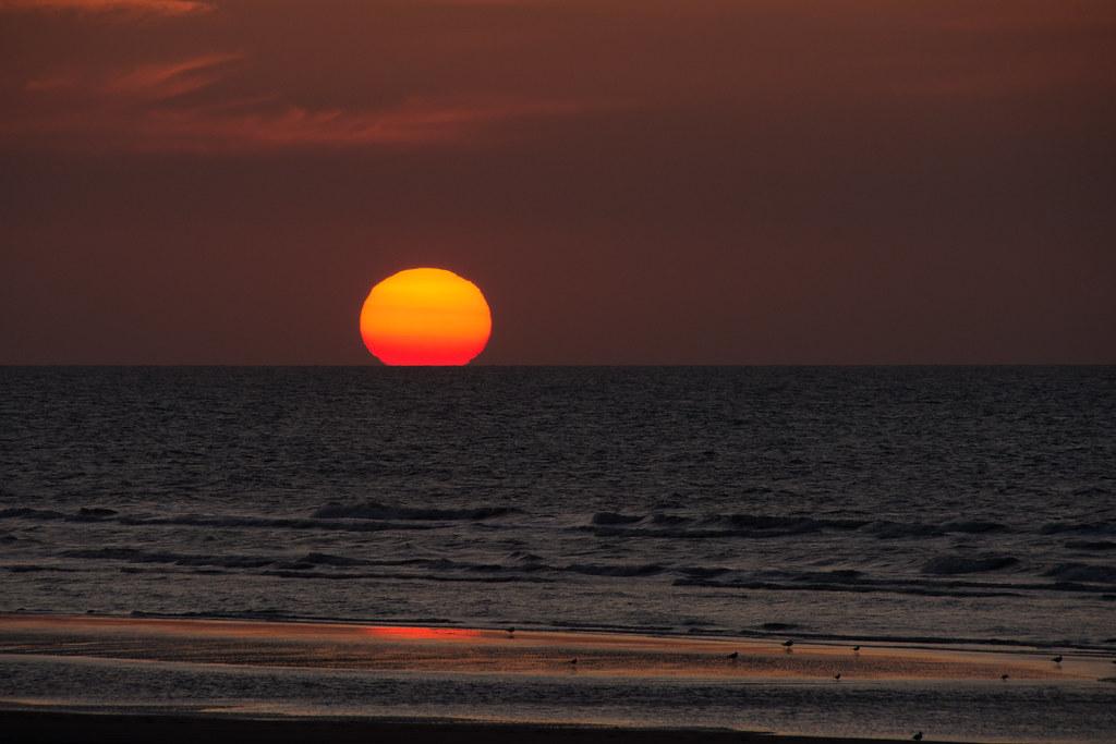 Summer's sunset.