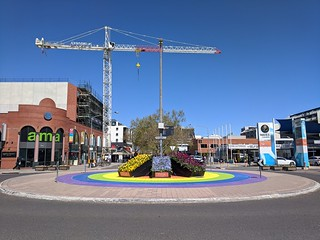 Floriade on the Rainbow Roundabout