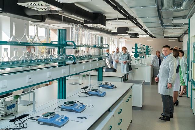 Olaines Tehnoloģiju koledžas modernizēto mācību telpu un laboratoriju svinīgā atklāšana