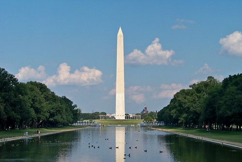 The Washington Monument, viewed from the Lincoln Memorial | by SchuminWeb
