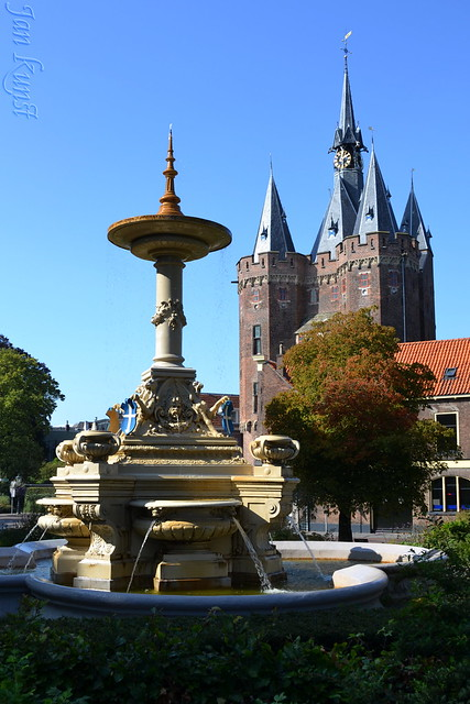 Fountain and City Gate