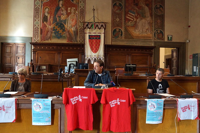28/09/20: Conferenza stampa My Prato Urban Run 2020