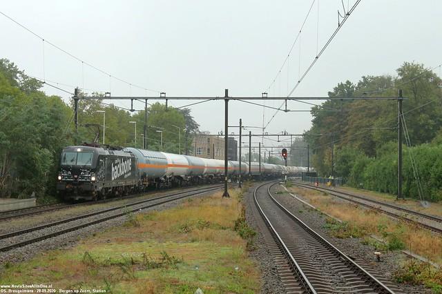 DBC 193 365 'I am the Backbone of the Economy' - Bergen op Zoom 28-09-2020.