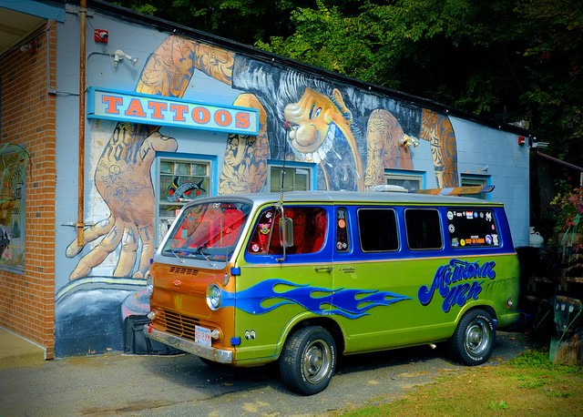 Mystery Machine at the Parlor