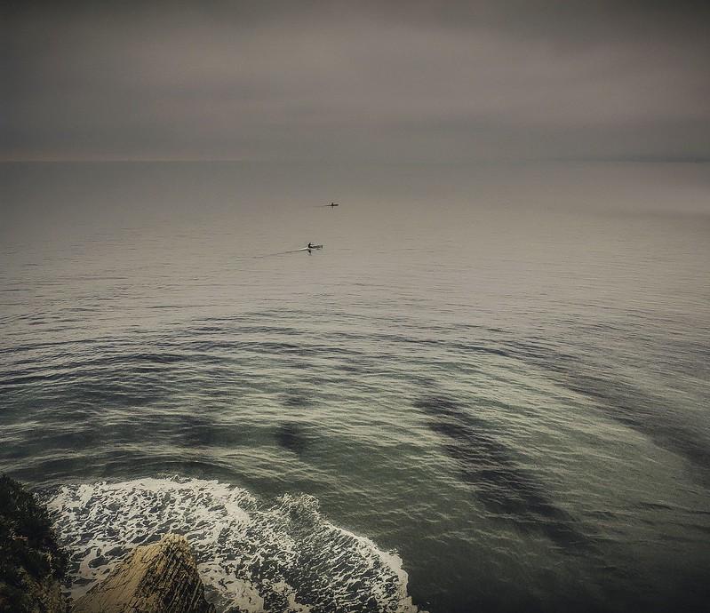 Shoreline Park Kayaks by Zoltan Puskas