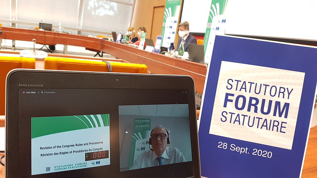 Meeting of the Congress Statutory Forum - 28 September 2020