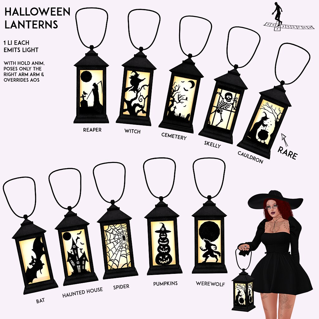 Halloween Lantern Gacha