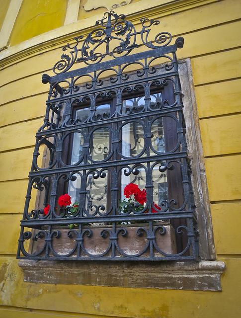 Window on Castle Hill
