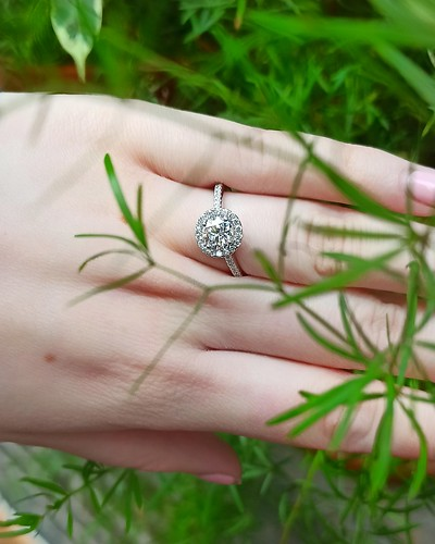 Lab Created Diamond Ring - HD047