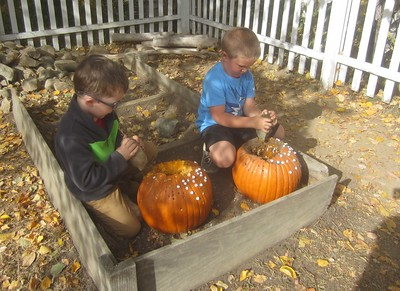 pounding pumpkins