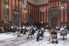 dt., 22/09/2020 - 17:20 - Plenari del Pacte per la Mobilitat   Foto Laura Guerrero/Ajuntament de BCN