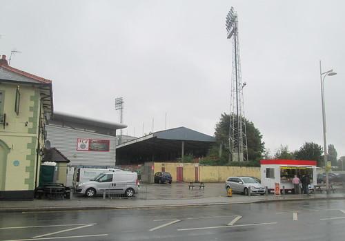East Terrace, Racecourse Stadium, Wrexham