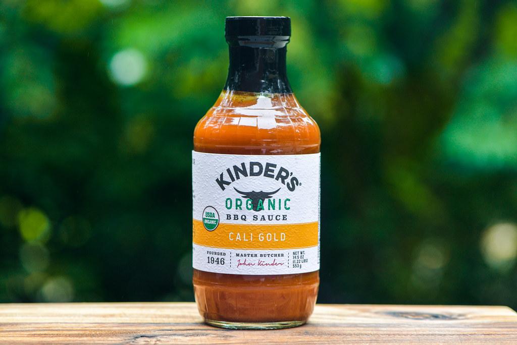 Kinder's Organic BBQ Sauce Cali Gold