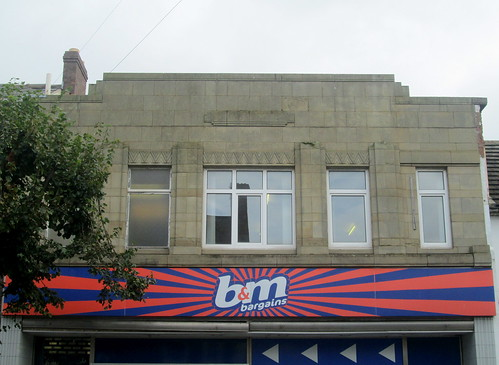 Former Woolworths, Mold, Detail