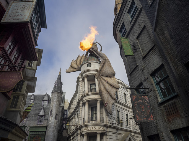 Harry Potter Dragon Flame