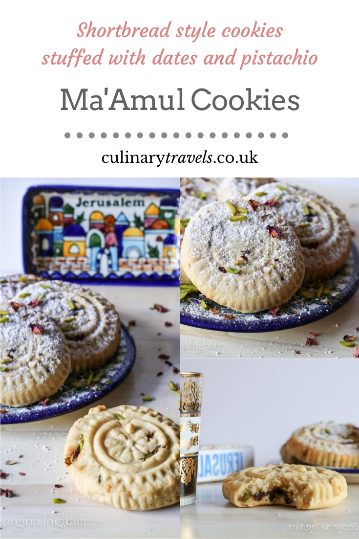 Ma'amul the Ultimate Arabic Cookie. Adapted from Jerusalem the Cook Book
