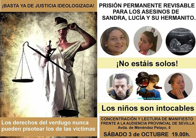 Justicia para Sandra y Lucía