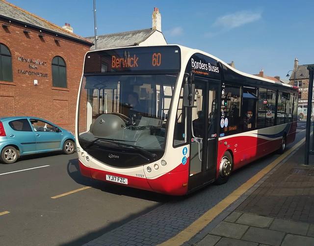 Borders Buses Optare Metrocity YJ17FZC 11727