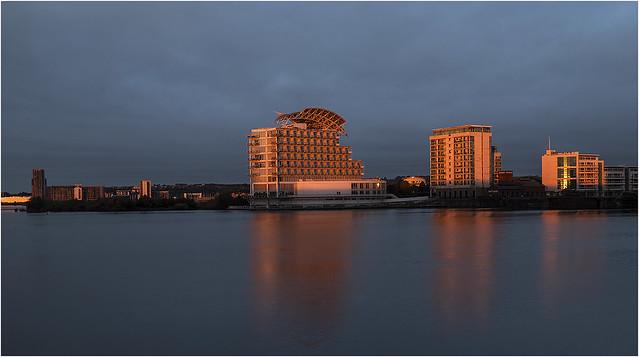 Cardiff bay before work 28 9 2020