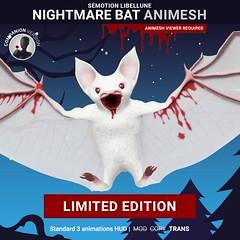 SEmotion Libellune Nightmare Bat Animesh Limited Halloween Edition!