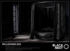 BLACK NEST / Belladonna Bed / Deco(c)rate