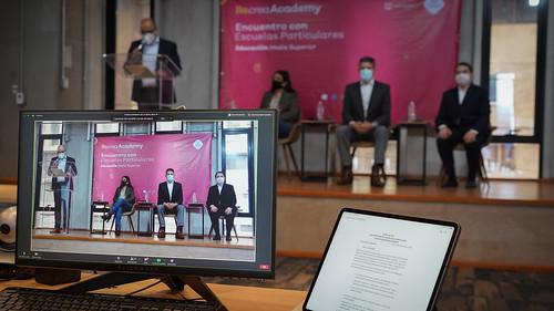 28 Sep 2020 . Secretaría de Educación Jalisco . Recrea Academy, encuentro con escuelas particulares, educación media superior.