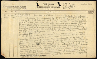 War Diary for New Zealand's 'blackest day', 12 October 1917 | by Archives New Zealand
