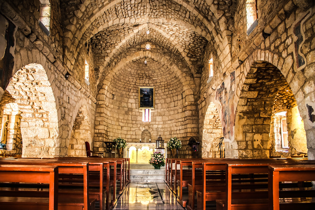 Saint Saba Eddeh Batroun Church Main Altar