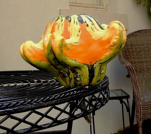 Colorful Upside Down Gourd